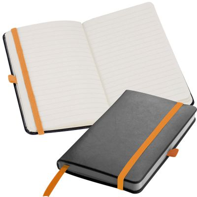 a6 Notizbuch orange