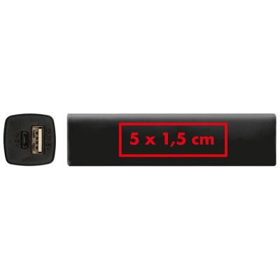 Powerbank 2.200 mAh mit USB Anschluss, inkl. Ladekabel