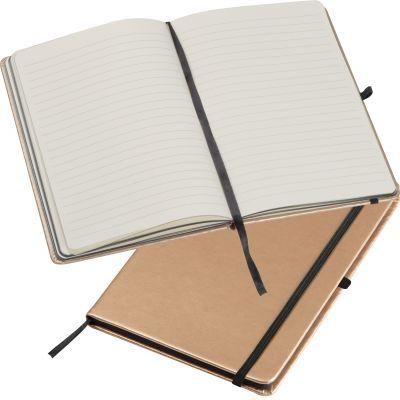 A5 Notizbuch in metallic Farben gold