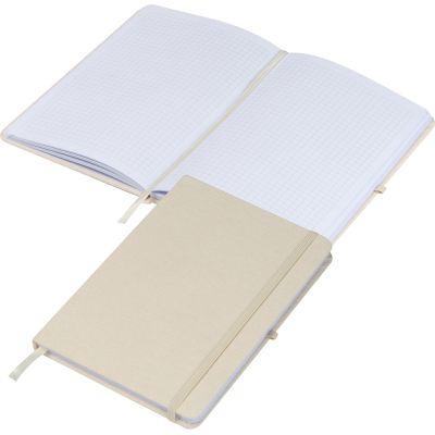 Notizbuch Canvas A5 beige