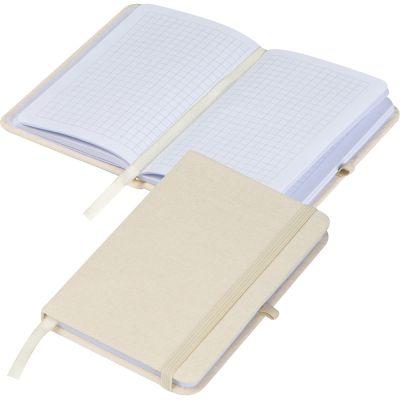 Notizbuch Canvas A6 beige