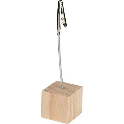 Memohalter mit Holzbasis AI0007900