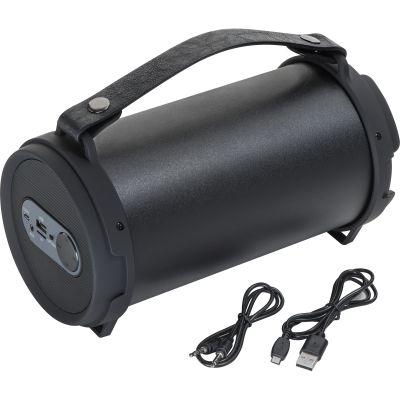 Bluetooth Lautsprecher mit integriertem Radio schwarz
