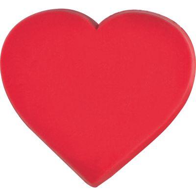 Click/Klebe Herz für Rechner Einleger rot