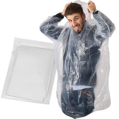 Phthalatefreier, transparenter Not-Poncho transparent