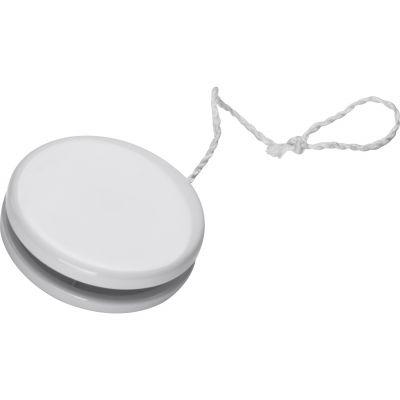Jo-Jo aus Kunststoff weiß