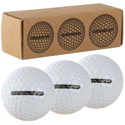 Golfbälle weiß