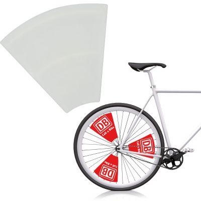 Fahrradspeichendekoration bunt