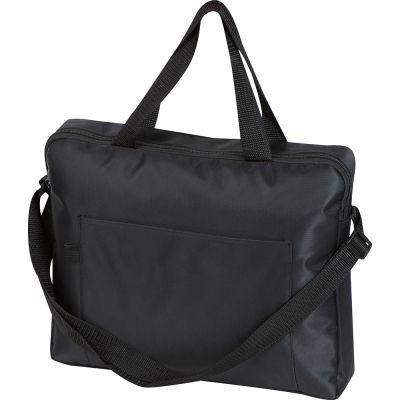 Businesstasche aus Polyester schwarz