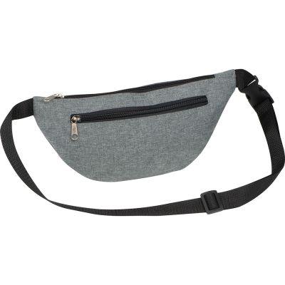 Gürteltasche aus Polyester grau