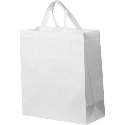 Non-Woven Tasche groß weiß