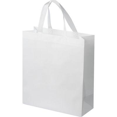 Non-Woven Tasche klein weiß