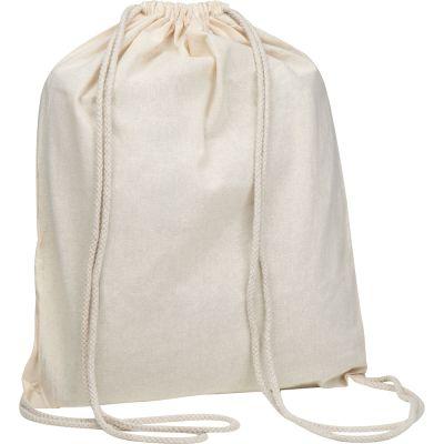 Oeko-Tex® STANDARD 100 Gymbag aus Baumwolle weiß
