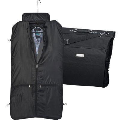 Kleidersack aus Polyester mit Metallschild AI0014900