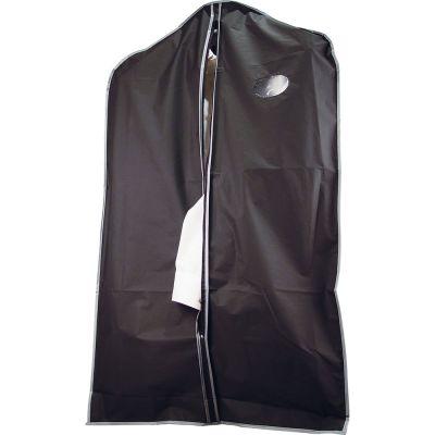 Kleiderschutzhülle aus PEVA schwarz