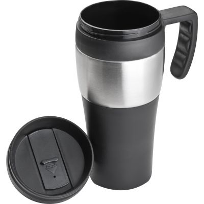 Thermobecher, 400 ml schwarz