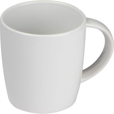 Tasse aus Keramik, 300 ml weiß
