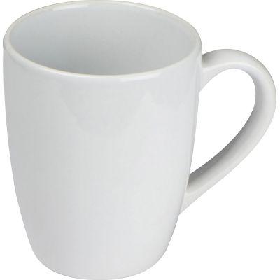WeißeKeramiktasse, 300ml weiß