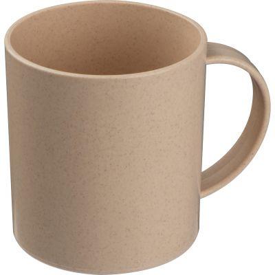 Umweltfreundliche Tasse beige