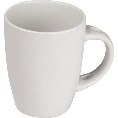 Tasse aus Keramik, 350 ml weiß
