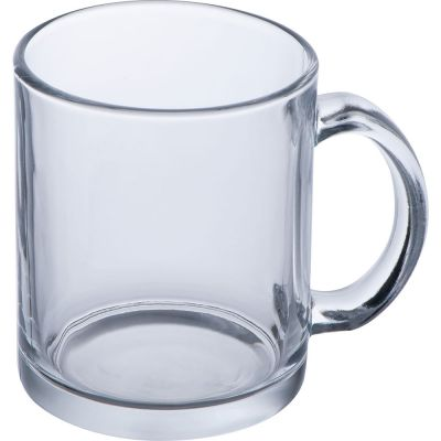 Kaffeetasse aus Glas, 300 ml transparent