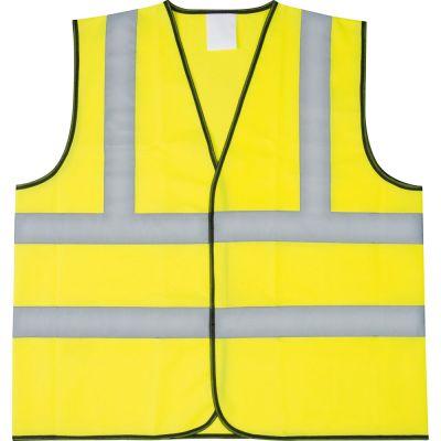 Sicherheitsweste für Erwachsene gelb