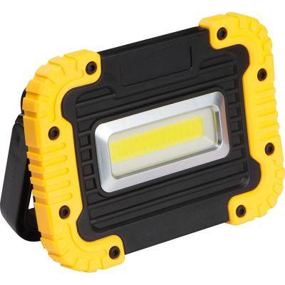 COB-Baulampe gelb