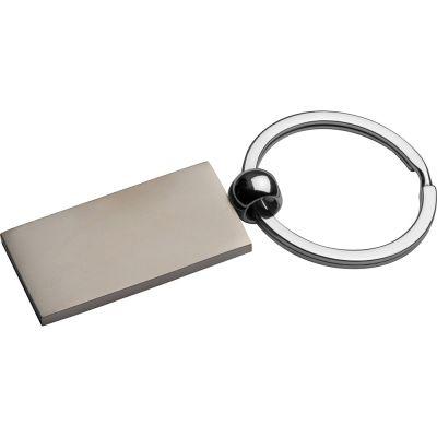 Metall-Schlüsselanhänger, rechteckig AI0022900