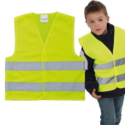 Kindersicherheitsweste EN 1150:1999 gelb