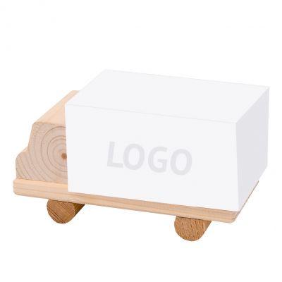 Zettelboxen, Zettelspeicher LKW Werbeartikel mit Logo (MW0003400)