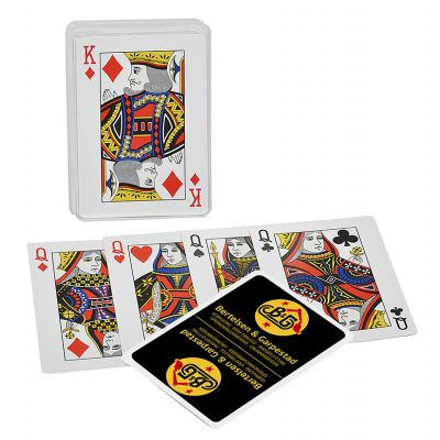 Poker - Classic - in Klarsichtetui - Werberückseite 1-farbig