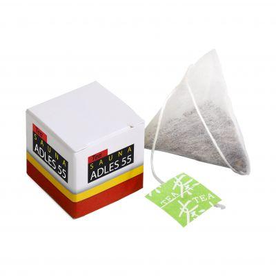 Box mit 1 Tee Tütchen weiß incl. vollfarbigem Druck(PE0005400)