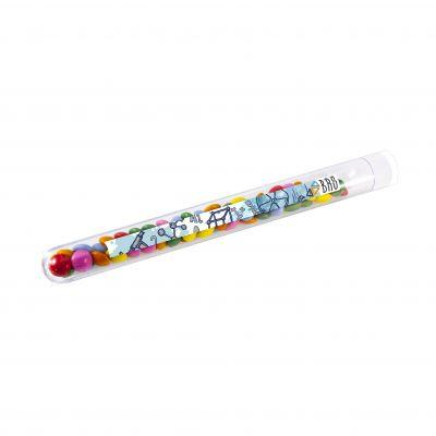 Reagenzgläschen transparent incl. vollfarbigem Druck(PE0010500)