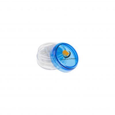 Mini Kunststoff Topf blau(PE0014600)