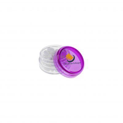 Mini Kunststoff Topf lila(PE0015200)