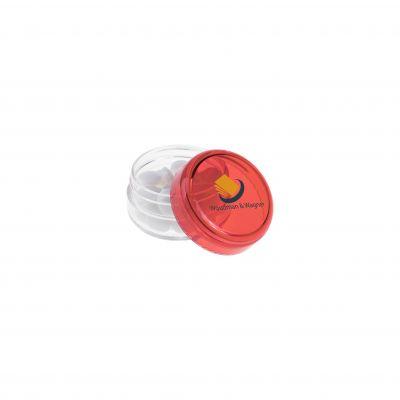 Mini Kunststoff Topf rot(PE0015400)