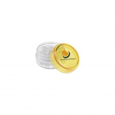 Mini Kunststoff Topf gelb(PE0014800)