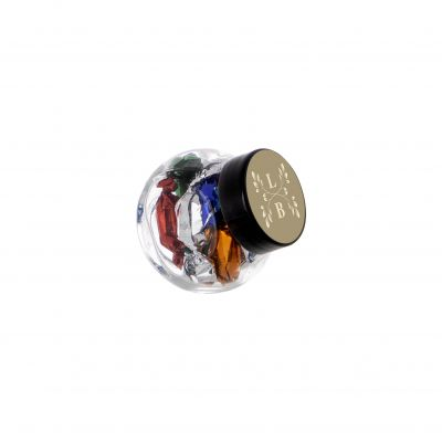 Micro Glasskrug 50 ml schwarz incl. vollfarbigem Druck(PE0023000)