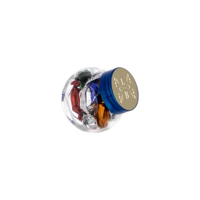 Micro Glasskrug 50 ml blau incl. vollfarbigem Druck(PE0022100)