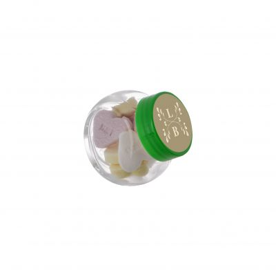 Micro Glasskrug 50 ml grün incl. vollfarbigem Druck(PE0023300)