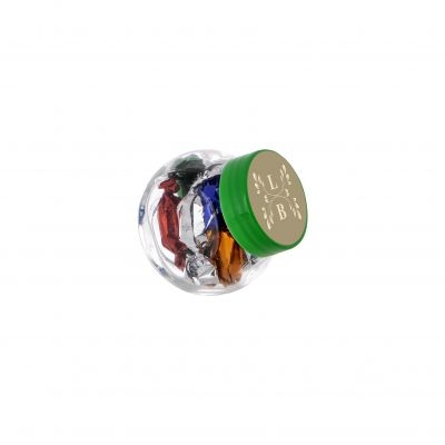 Micro Glasskrug 50 ml grün incl. vollfarbigem Druck(PE0022300)