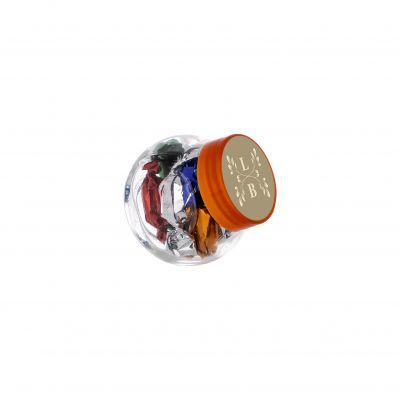 Micro Glasskrug 50 ml orange incl. vollfarbigem Druck(PE0022500)