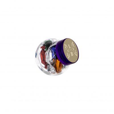 Micro Glasskrug 50 ml lila incl. vollfarbigem Druck(PE0022600)