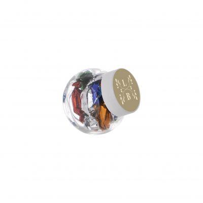 Micro Glasskrug 50 ml weiß incl. vollfarbigem Druck(PE0022800)