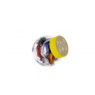 Micro Glasskrug 50 ml gelb incl. vollfarbigem Druck(PE0022200)