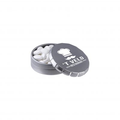 Super Mini Klick-Klack Dose silber(PE0036800)