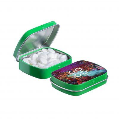 Mini Klappdeckeldose grün(PE0038400)