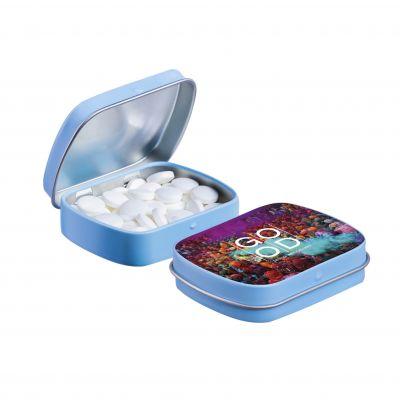 Mini Klappdeckeldose hellblau(PE0041800)