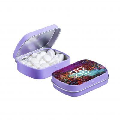 Mini Klappdeckeldose lila(PE0042000)