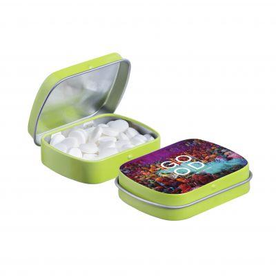 Mini Klappdeckeldose hellgrün(PE0042200)